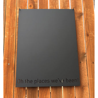 Oh the places we've been! | Magnet Board | 18&quotx24"