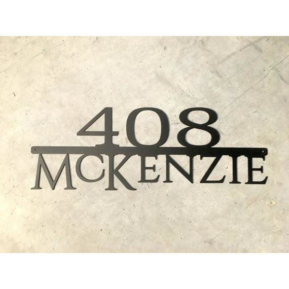 Custom, Modern Address Marker | Large | Design 2