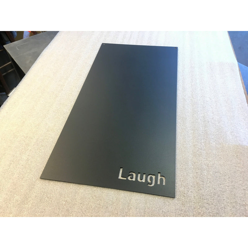 "Travel | Laugh | Love | Magnet Board | 10""x20"" 