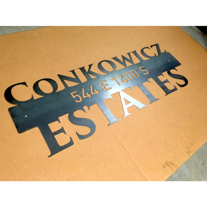 Large Address Sign | 46"