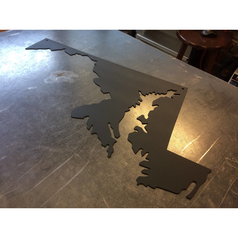 Maryland | Metal Wall Art | 20"