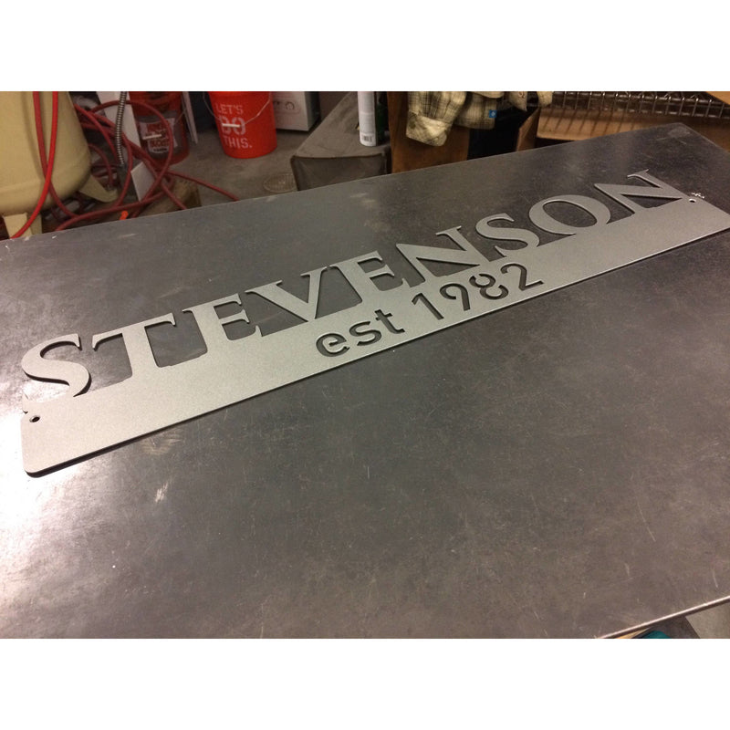 Last Name Established | 46"