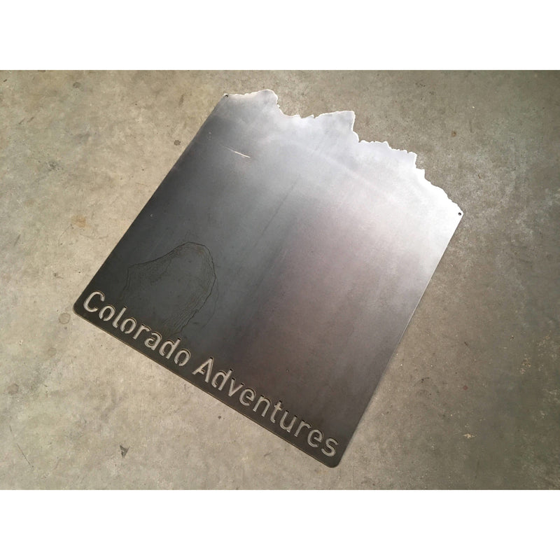 "Colorado Adventures | Metal Magnet Board | 18""x21"" 