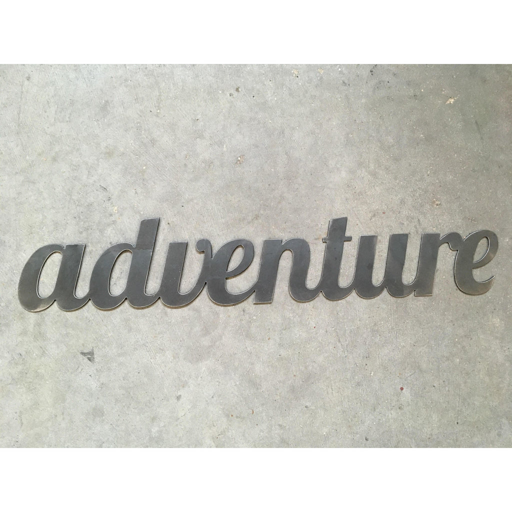 Adventure | Metal Word Art | #4410