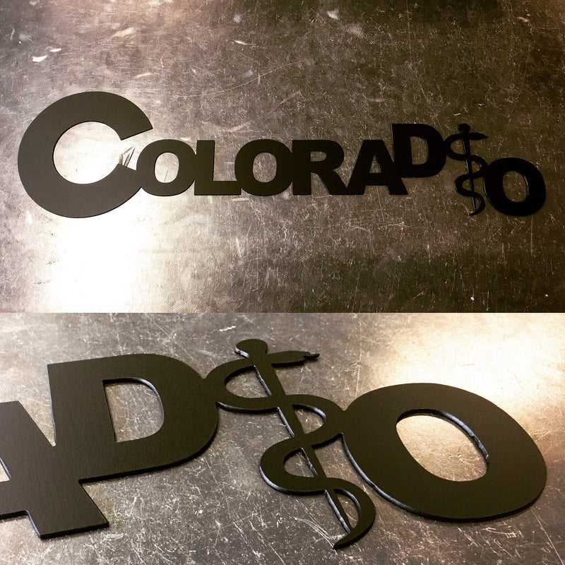 ColoraDO | Osteopathic Medicine Metal Art | #4490