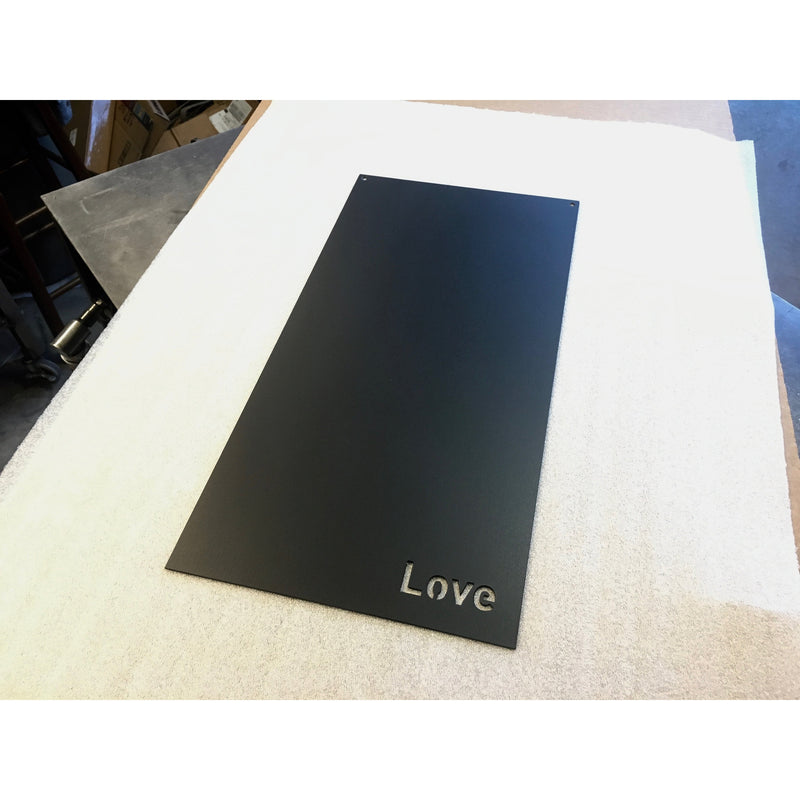 "Love | Magnet Board | 10""x20"" 