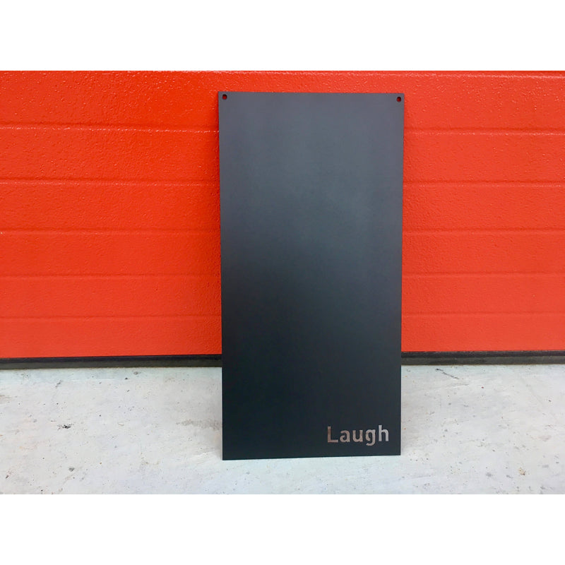 "Laugh | Magnet Board | 10""x20"" 
