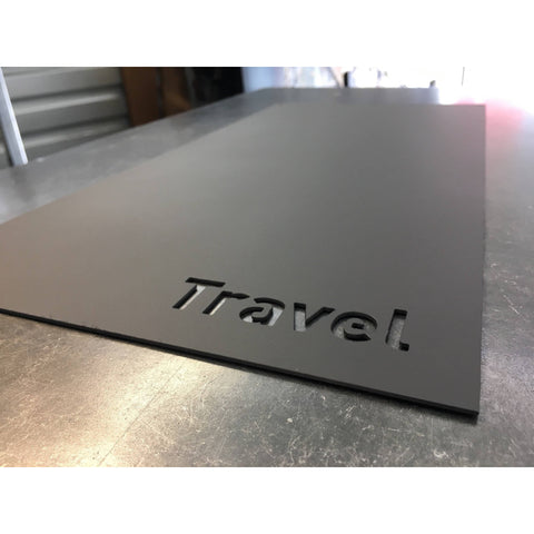 "Travel | Magnet Board | 10""x20"" 
