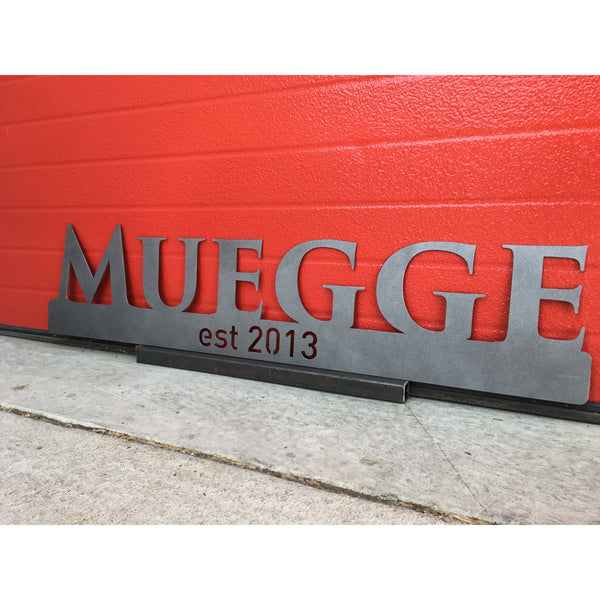 Last Name Established | 34"
