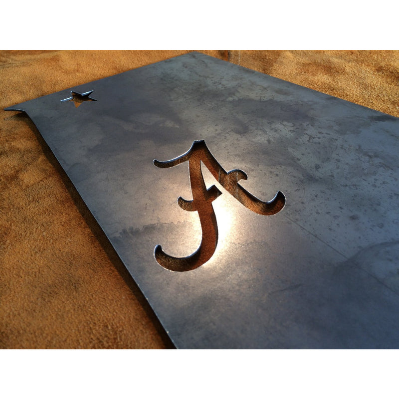"Alabama | Custom Metal Sign | 10""x14"" 