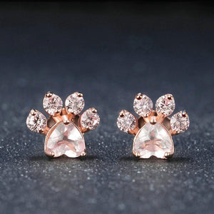 Kitty Paws Rose Gold Ring