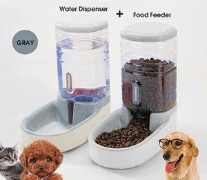 Automatic Pet Feeder and Water Dispenser