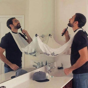Mens Beard Bib - Hair Clippings Catcher