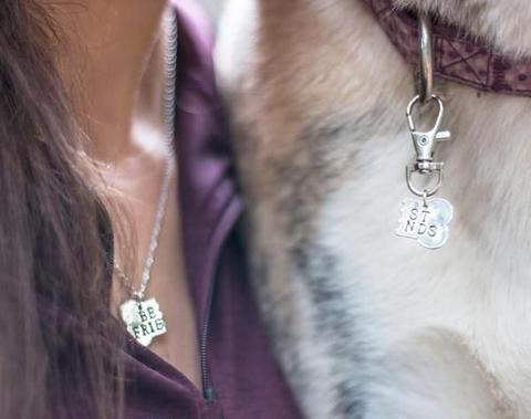 Best Friend Necklace for you and your dog!