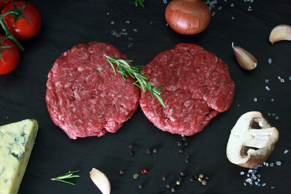 Hereford Beef Burgers - Pack of 2 or 4