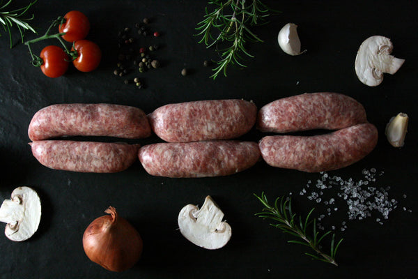 Italian Pork Sausages with White Wine & Fennel (Gluten Free)