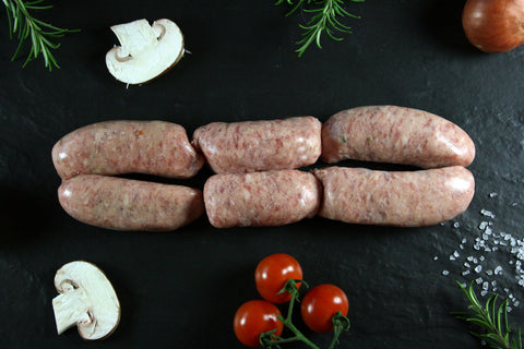 King Henry's Boar Sausages