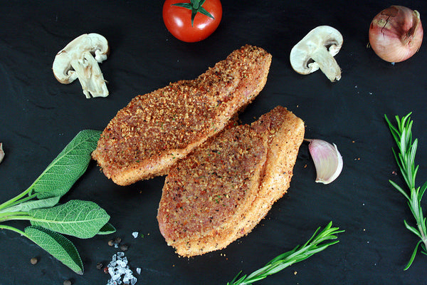Peppered Pork Steaks