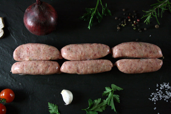 Pork & Red Onion Marmalade Sausages