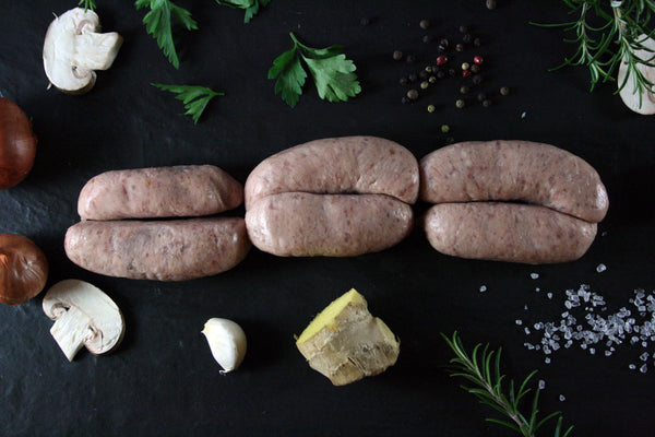 Pork Apricot & Ginger Sausages