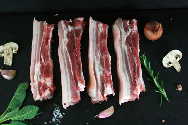 Pork Belly Slices - Pack of 4