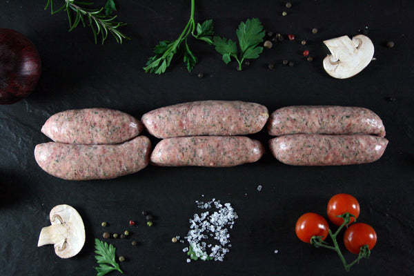 Rare Breed Tamworth Pork Sausages
