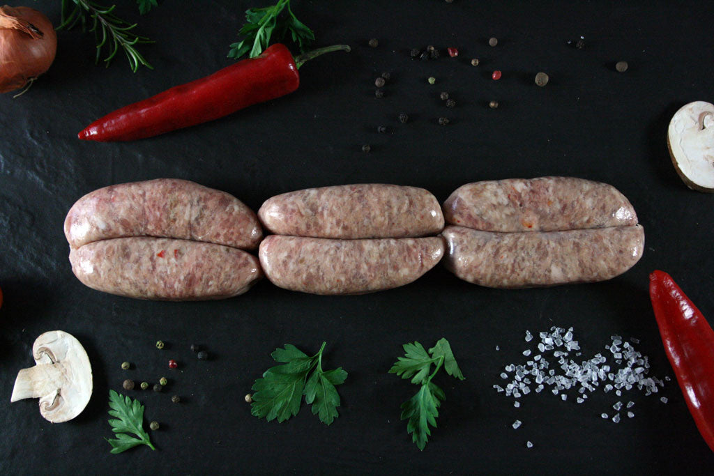 Wincotts' Winter Warmer Pork Sausages