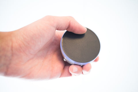 SPIN remote touch pad with one hand