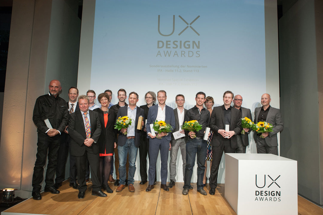 UX Design Awards Ceremony 2015 - ReceptionUX Design Awards Ceremony 2015 at which SPIN remote received its Award for outstanding design and user orientation