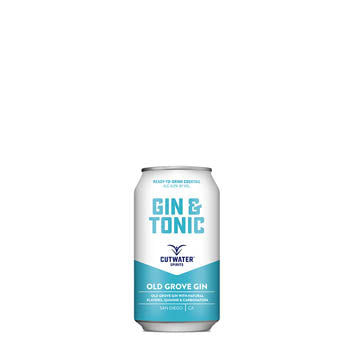Cutwater Spirits, Old Grove Gin & Tonic · 12 oz can