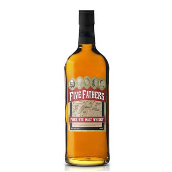 Old Pogue, Five Fathers Pure Rye Malt Whiskey