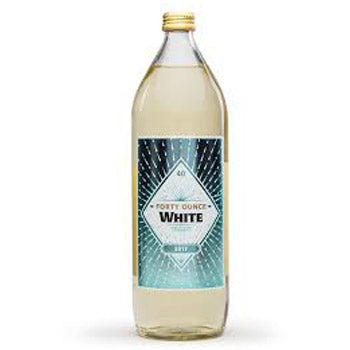 Forty Ounce White 1liter