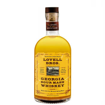 Lovell Brothers, Georgia Sour Mash Whiskey 86 Proof