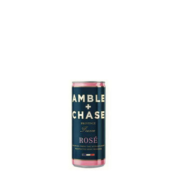 Amble & Chase, Rosé (2017) · 250 mL can