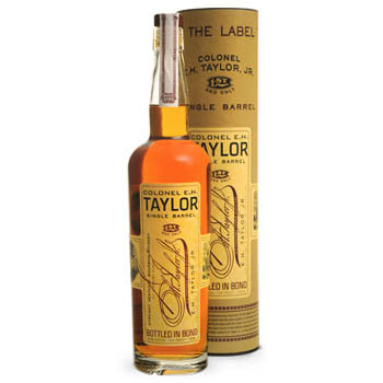 Colonel E H Taylor jr, Single Barrel 100 Proof Bourbon