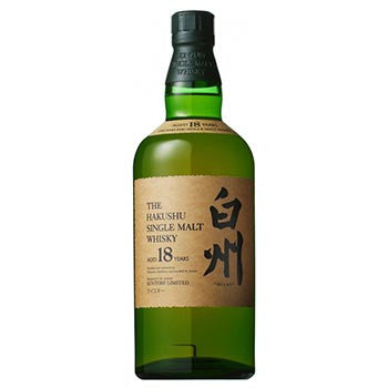 The Hakushu Single Malt Japanese Whisky 18 Years