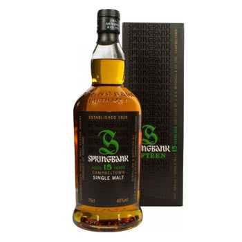 Springbank 15 Year Old Single Malt Whiskey