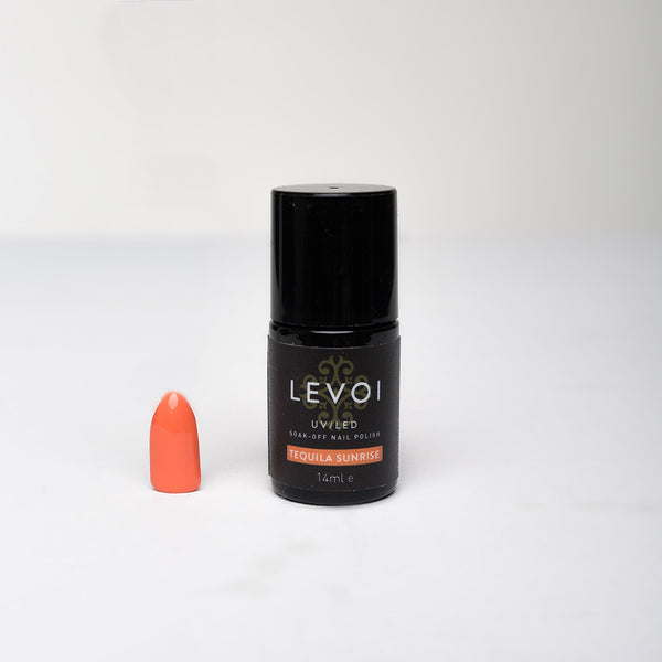LEVOI Uv/Led Soak Off Gel Polish, TEQUILA SUNRISE