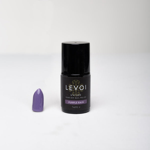LEVOI Uv/Led soak off gel polish, PURPLE RAIN