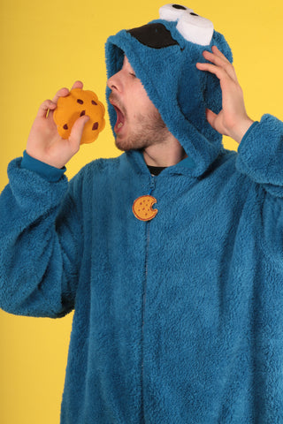 Cookie Monster Mens Primark Onesie