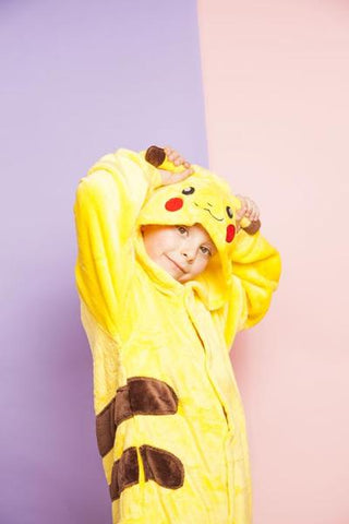 POKEMON PIKACHU KIDS ONESIE | ONESIEFUL