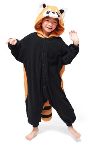 Reggie the Red Panda Kids Onesie