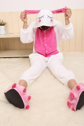 LOVE RABBIT ONESIE | ONESIEFUL