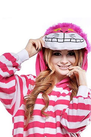 Premium Alice in Wonderland's Cheshire Cat Onesie | Onesieful