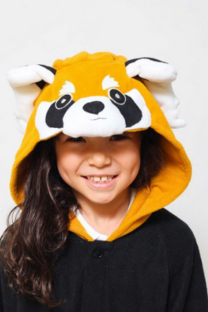 Reggie The Red Panda Kids Onesie | Onesieful