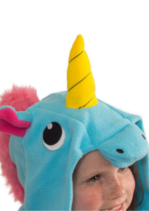 Stardust Blue Kids Unicorn Onesie
