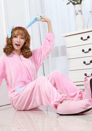 Woody The Pink Bunny Rabbit | Onesieful
