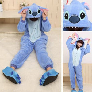 Blue Stitch Kids Onesie | Onesieful
