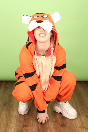 'Eye of the Tiger' Bengal Onesie | Onesieful