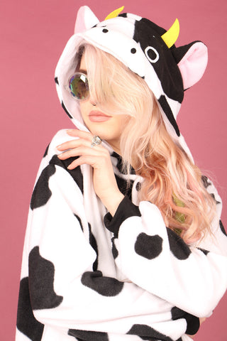 Cheeky Adult Cow Onesie | Onesieful